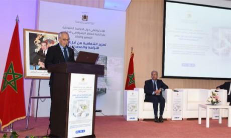 Présentation à Rabat de la cartographie des risques  de corruption dans l'urbanisme et l'immobilier