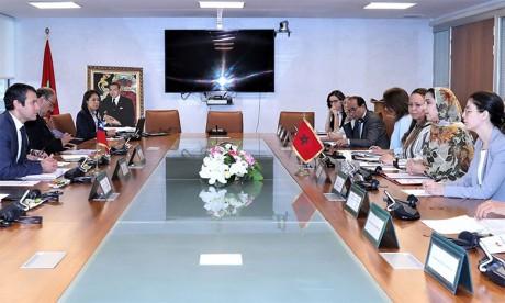 Le Maroc et le Chili tiennent à Rabat la première réunion du Comité mixte de commerce et d'investissement