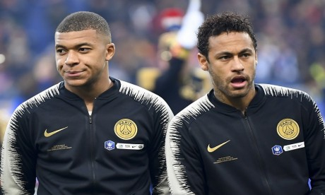 Encore deux matches de suspension à purger pour Mbappé, ouverture d'une procédure contre Neymar