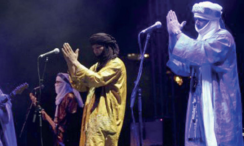 Concert du  collectif Tinariwen