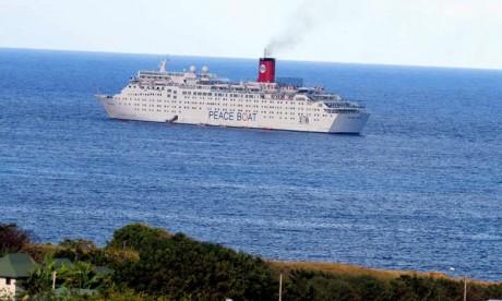 Le «Peace Boat» fait escale à Tanger