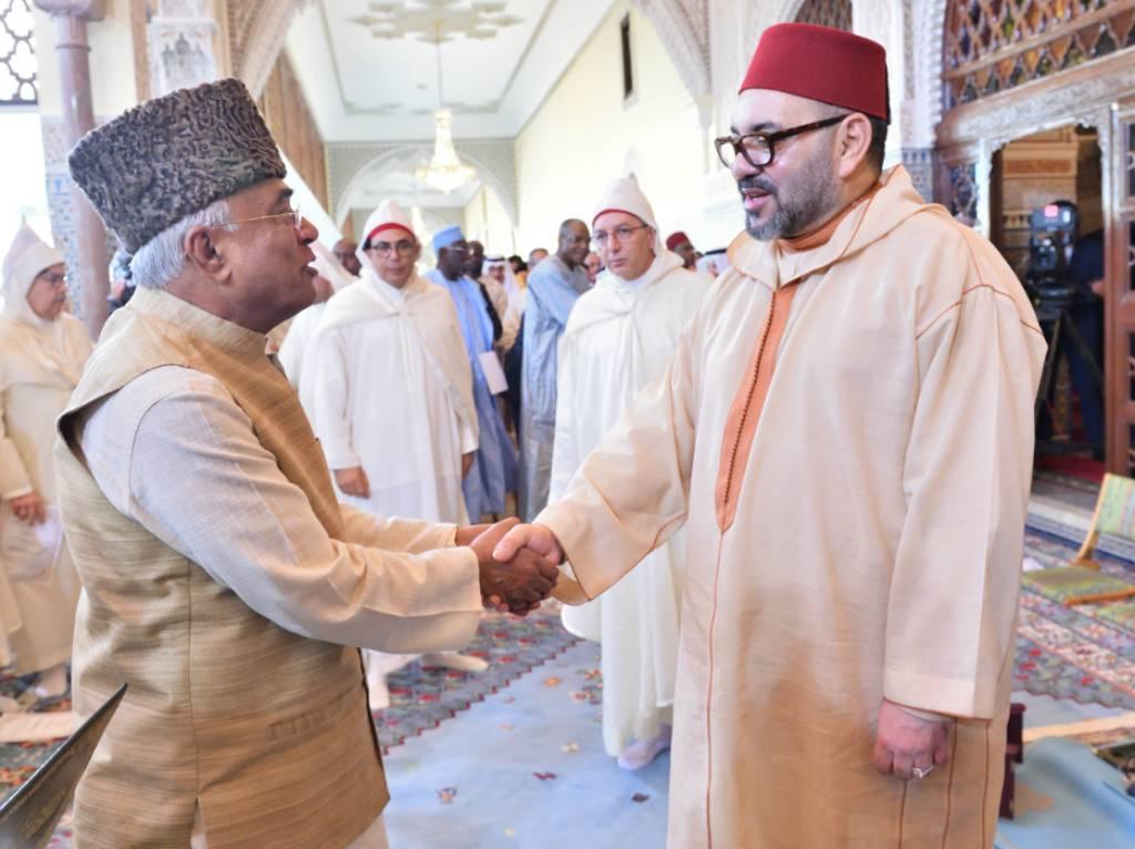 S.M. le Roi, Amir Al Mouminine, préside la deuxième causerie religieuse du mois sacré du Ramadan