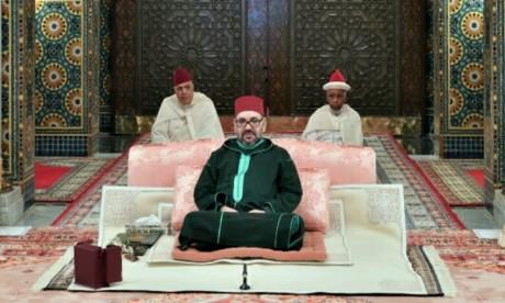 S.M. le Roi, Amir Al Mouminine, préside à Casablanca la 3ème causerie religieuse du mois de Ramadan