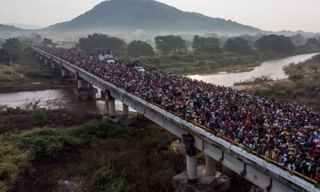 Les USA imposent des droits de douanes à Mexico