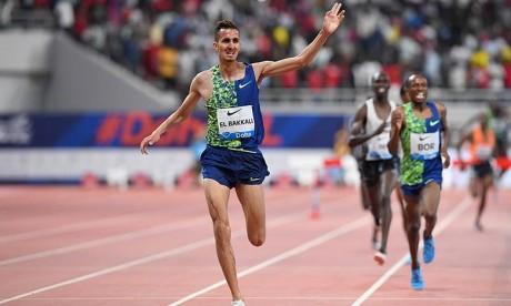 Meeting de Doha: Soufiane El Bakkali remporte le 3.000 m steeple