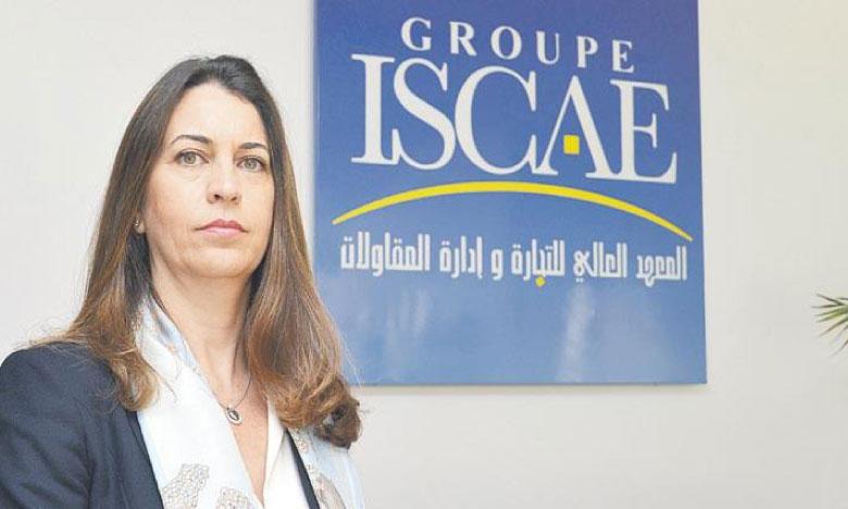 Nada Biaz, directrice générale du Groupe ISCAE.