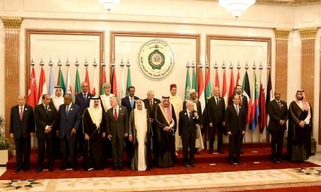 Sommet extraordinaire arabe : début des travaux en présence de S.A.R. le Prince Moulay Rachid qui représente S.M. le Roi
