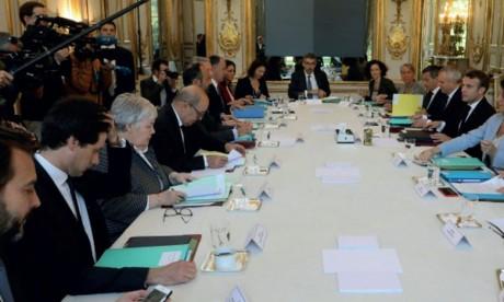 Première réunion du Conseil  de défense écologique