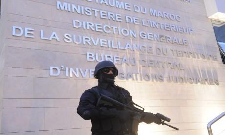 Démantèlement d'une cellule terroriste s'activant à Tanger