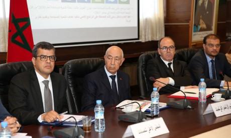 Présentation du rapport thématique publié par la Cour  des comptes sur «l'état de préparation du Maroc pour la mise en œuvre des ODD 2015-2030»