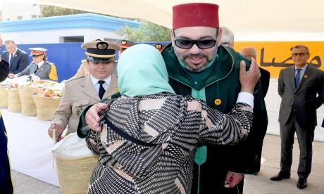 """S.M. le Roi lance à Rabat l'opération nationale de soutien alimentaire """"Ramadan 1440"""""""