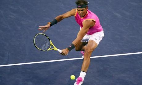 Rafael Nadal s'accapare la 2e place