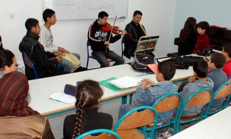 Formation artistique et musicale: Les actions du département de la Culture en 2019