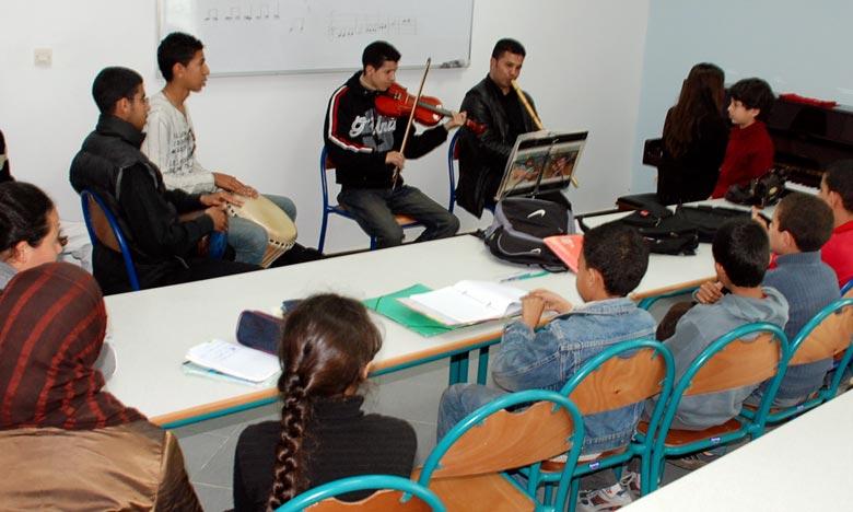 L'accès à la formation musicale pour les différentes tranches d'âge a été facilité, puisque plusieurs enfants profitent de ces conservatoires dès l'âge de 6 ans. Ph : Archives