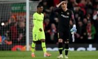 Le gardien de but de FC Barcelone, Marc-André ter Stegen ne disputera pas la finale de la Coupe du Roi à cause d'une blessure au genou. Ph :  AFP