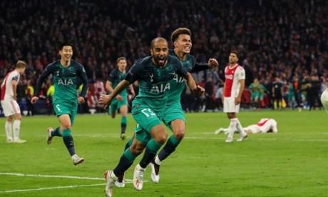 Tottenham dompte l'Ajax et décroche  sa première finale