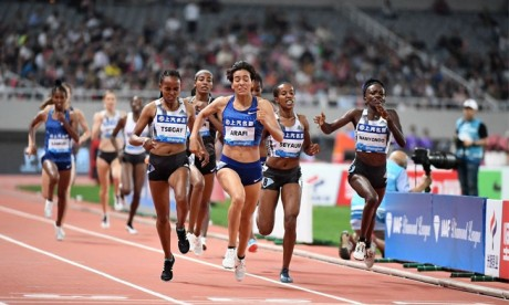 Rabab Arafi signe la meilleure performance mondiale  de l'année sur le 1.500 mètres