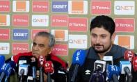 Le technicien tunisien, Faouzi Benzarti s'est dit satisfait de la prestation de ses joueurs qui ont réussi à revenir au score même à 10 contre 11. Ph : MAP