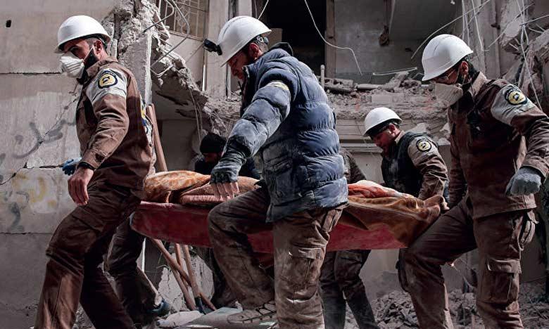 L'Observatoire syrien des droits humains parle de plus de 3.800 morts  civils, dont un millier d'enfants, en Syrie seulement. Ph. AFP