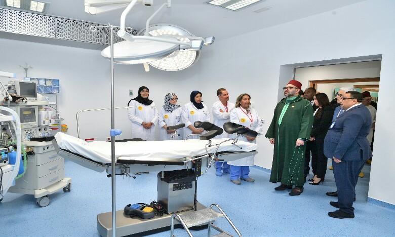 S.M. le Roi inaugure à l'arrondissement Sidi Moumen un Centre médical de proximité - Fondation Mohammed V pour la solidarité- destiné à consolider l'offre de soins en faveur des populations vulnérables