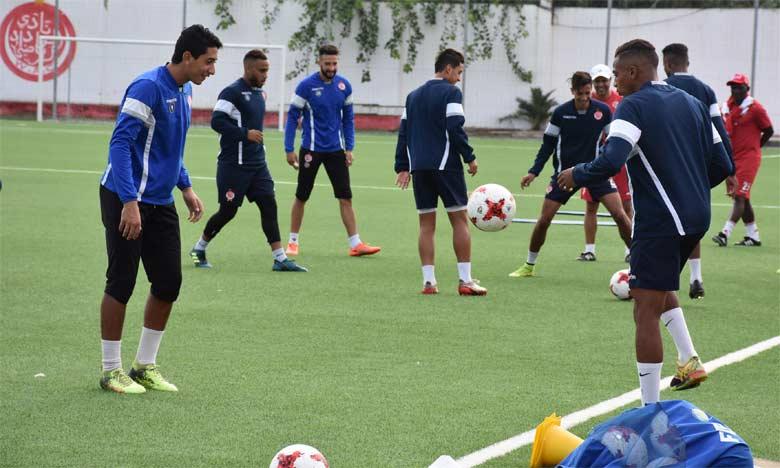 Le Wydad s'entraîne à huis clos avant le choc face à l'Espérance de Tunis