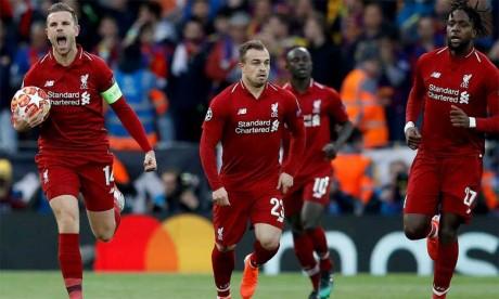 Liverpool enterre les rêves de triplé du Barça