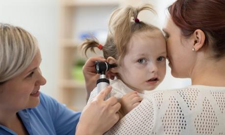 Repérer une otite chez l'enfant : Bientôt une application