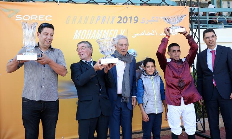 Le cheval «Atlas» remporte la compétition