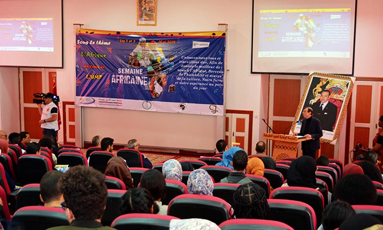 La rencontre met la lumière sur le rôle de l'UMP dans la promotion des évènements culturels à portée africaine, en plus de mobiliser l'expérience marocaine pour la mettre au service des pays amis du continent. Ph : DR