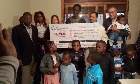 L'association Kirikou reçoit des dons d'une valeur de 70.000 DH