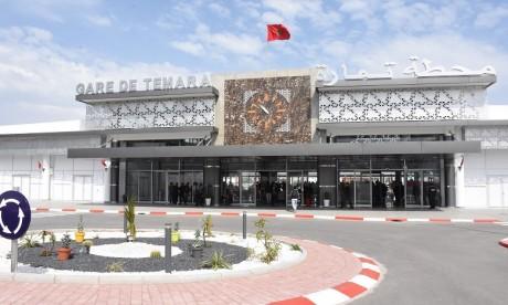La nouvelle gare de Témara mise en service
