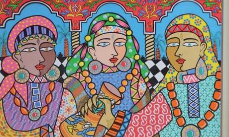 En artiste engagé, Hamza Achour tient toujours à faire passer des messages dans ses œuvres.