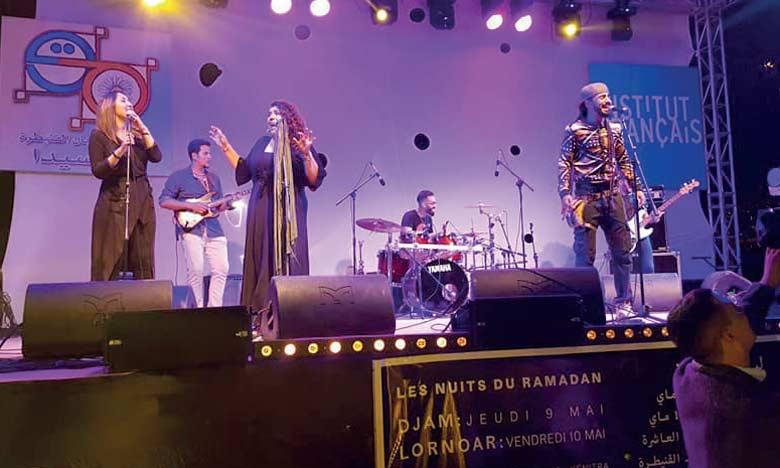 Djam et Lornoar ont animé deux concerts à Kénitra