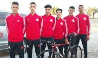 La sélection nationale sur la ligne de départ du tour du Cameroun 2019