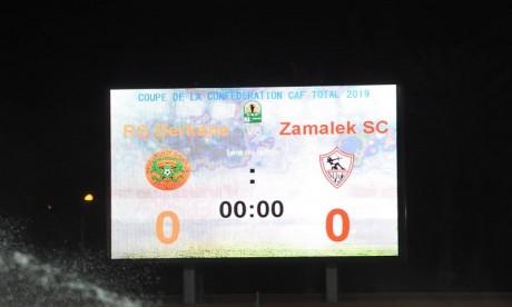 Coupe de la CAF : voici les formations RSB & Zamalek