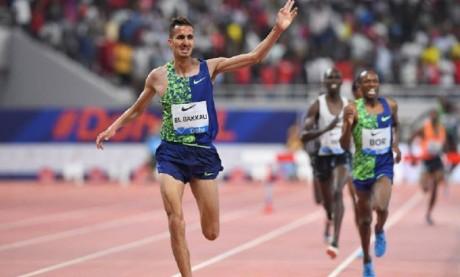 Soufiane El Bakkali signe  la meilleure performance  mondiale de la saison