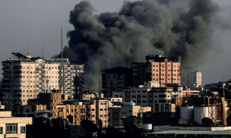 Gaza est en proie aux poussées de fièvre répétées en l'absence de tout horizon politique pour un règlement du conflit israélo-palestinien.                    Ph. AFP