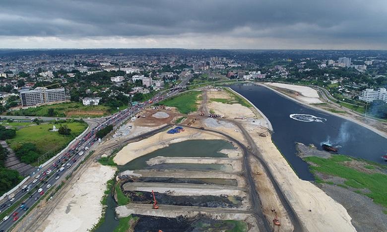 Baie de Cocody : Jazouli à Abidjan pour faire le suivi