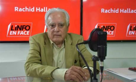 Mohamed Berrada était l'invité de l'émission L'Info en face sur Matin TV.        Ph. Sradni