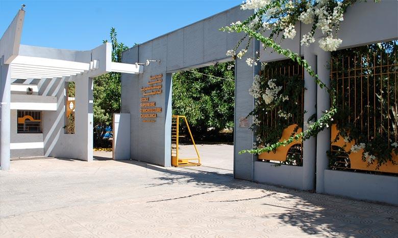 Remise des diplômes aux lauréats de l'École d'architecture de Casablanca