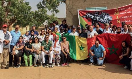 Plus de 3.000 personnes ont bénéficié de la Caravane médicale de l'Association des Marocains lauréats du Sénégal