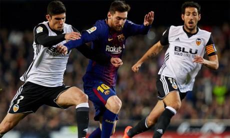 Face à Valence, le Barça vise un cinquième titre d'affilée