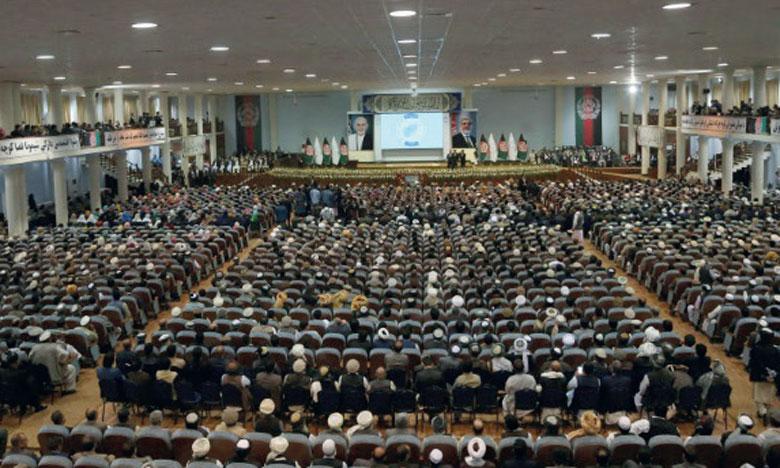 La Loya Jirga a rassemblé 3.200 politiciens, responsables religieux, dirigeants communautaires et autres membres de la société civile. Ph. AFP