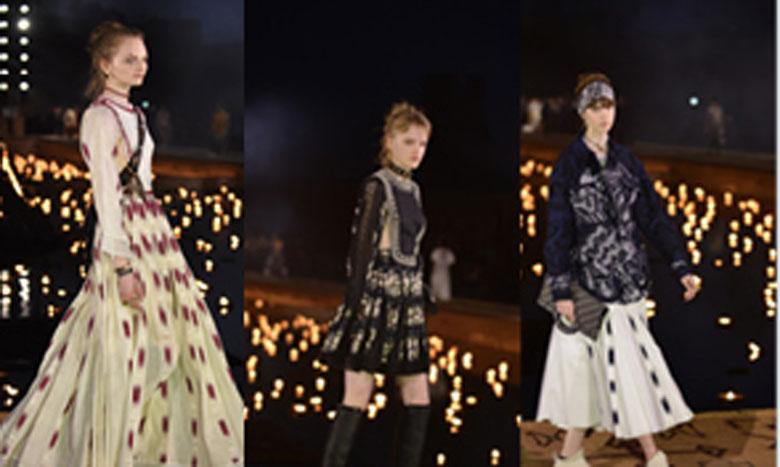 Dior célèbre l'Afrique à Marrakech