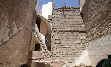 Un mort dans l'effondrement d'une maison à l'ancienne médina de Marrakech