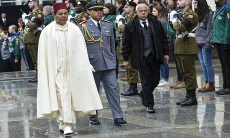 S.A.R. le Prince Moulay Rachid représente S.M. le Roi aux funérailles du Grand-Duc Jean de Luxembourg