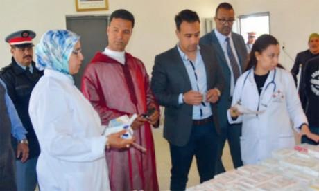 Une campagne socio-médicale dans la commune rurale d'Outabouâbane