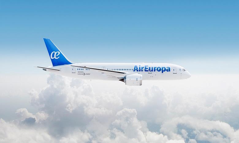 Air Europa lance une nouvelle ligne Casablanca-Madrid