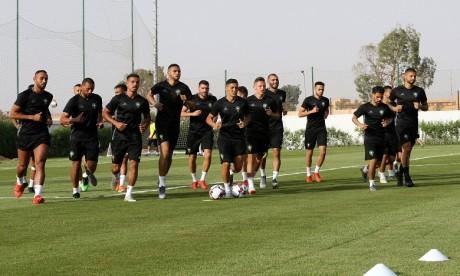 CAN-2019 : troisième séance d'entraînement de l'équipe nationale au Caire