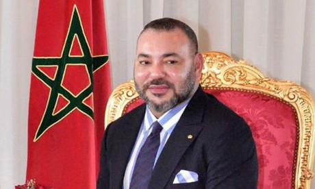 S.M. le Roi félicite M. Mohamed Cheikh Mohamed Ahmed El Ghazouany suite à son élection président de la Mauritanie